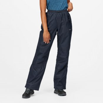 Regatta Women's Amelie III Waterproof Overtrousers - Navy