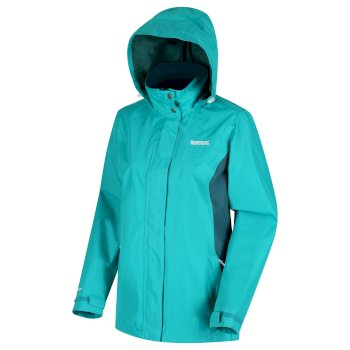 Regatta Women's Daysha Lightweight Waterproof Jacket - Shoreline Blue Deep Teal