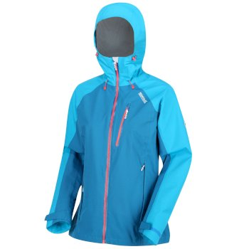 Regatta Women's Birchdale Waterproof Jacket - Petrol Atlantic Blue