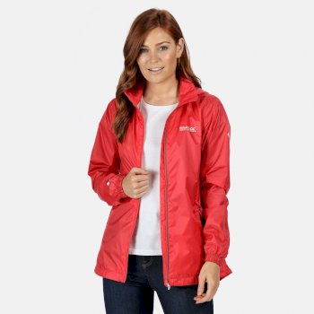 Regatta Women's Corinne IV Lightweight Waterproof Jacket - Red Sky