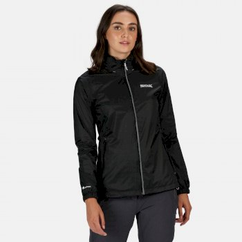 Regatta Women's Corinne IV Lightweight Waterproof Jacket - Black
