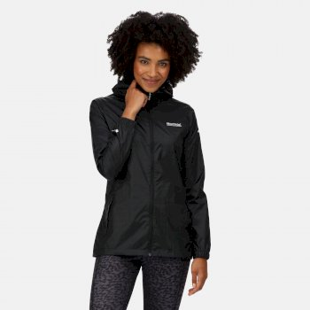 Regatta Women's Pack-It III Lightweight Waterproof Packaway Walking Jacket - Black