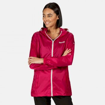 Regatta Women's Pack-It III Lightweight Waterproof Packaway Walking Jacket - Dark Cerise