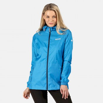 Regatta Women's Pack-It Jacket III Waterproof Packaway Jacket - Blue Aster