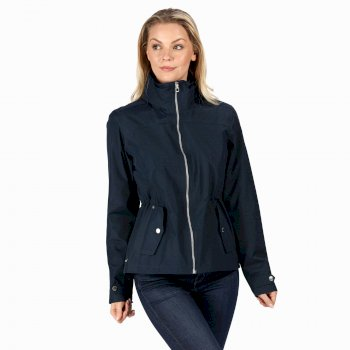 Regatta Women's Laurenza Lightweight Waterproof Jacket - Navy