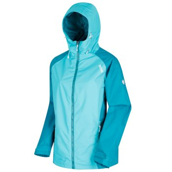 Regatta Women's Atten Waterproof Shell Jacket - Atlants Deep Lake