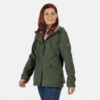 Ninette wasserdichte Jacke für Damen Grün