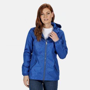 Lilibeth wasserdichte Jacke für Damen Blau