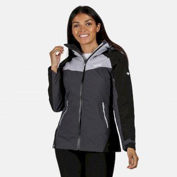 Oklahoma V reflektierende, wasserdichte Jacke für Damen Grau