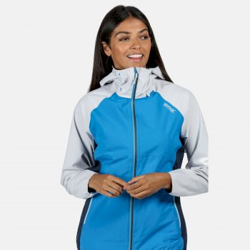 Regatta Women's Imber III Waterproof Jacket - Blue Aster White