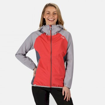 Regatta Women's Imber III Waterproof Jacket - Red Sky Dapple