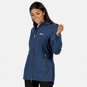 Alysio wasserdichte Jacke für Damen Blau
