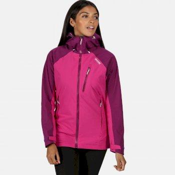 Highton wasserdichte Stretch-Jacke für Damen Violett