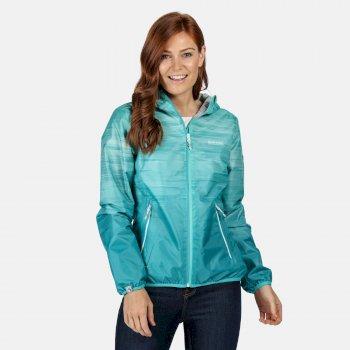 Leera IV leichte, wasserdichte Jacke für Damen Blau