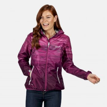 Regatta Women's Leera IV Lightweight Waterproof Jacket - Vivid Viola