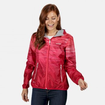Regatta Women's Leera IV Lightweight Waterproof Jacket - Neon Pink