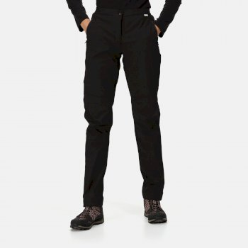 Women's Highton Waterproof Overtrousers - Black