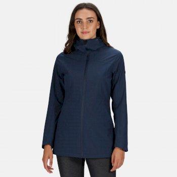 Regatta Women's Pulton Waterproof Hooded Walking Jacket - Navy