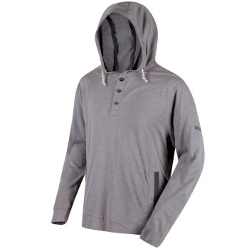 Regatta Men's Marly Hoodie - Rock Grey