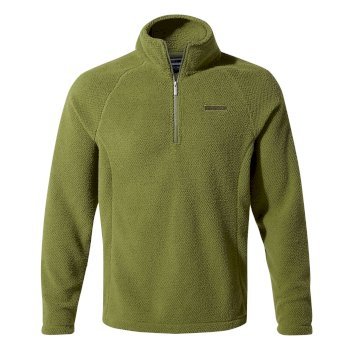Craghoppers Barston Half-Zip Fleece Buffalo Green