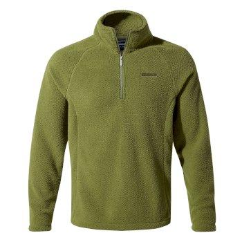 Craghoppers Barston Half-Zip Fleece Buffalo Green