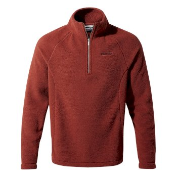 Craghoppers Barston Half-Zip Fleece Firth Red / Platinum / Black