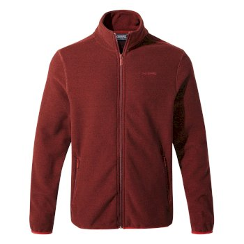 Craghoppers Cleland Jacket Firth Red / Platinum / Black