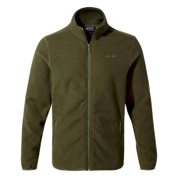 Craghoppers Cleland Jacket Dark Moss / Black Pepper