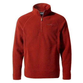 Craghoppers Cason Half-Zip Fleece - Firth Red