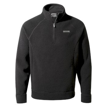 Craghoppers Cason Half Zip - Black Pepper