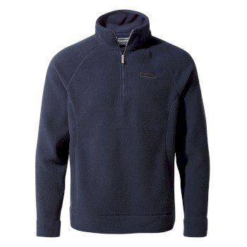 Craghoppers Cason Half Zip - Blue Navy