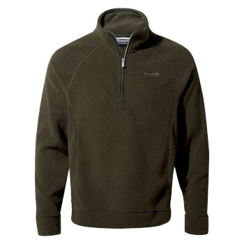 Craghoppers Cason Half Zip - Woodland Green