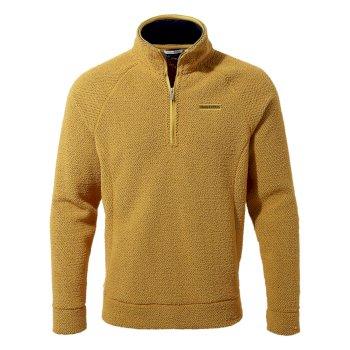 Craghoppers Cason Half-Zip - Golden Yellow