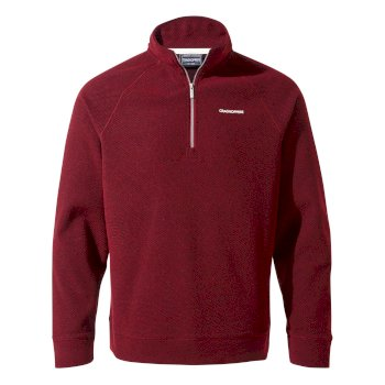 Craghoppers Ricarda Half-Zip Fleece  Firth Red / Platinum / Black