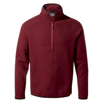 Craghoppers Nendaz Half-Zip - Maple Red