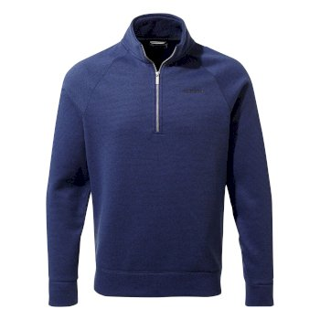 Craghoppers Nestor Half-Zip Fleece - Lapis Blue
