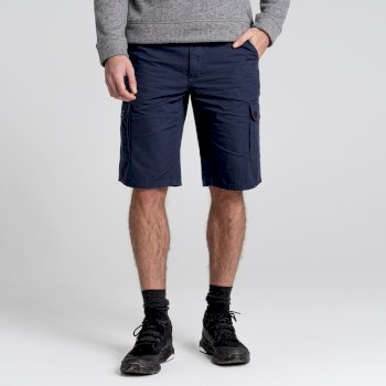Craghoppers Thallon Shorts - Steel Blue