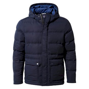 Craghoppers Campellio DowNosiLifeike Hooded Jacket - Blue Navy
