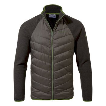 Craghoppers Alef Hybrid Jacket - Black Pepper