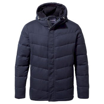 Craghoppers Rigby Downlike Hooded Jacket - Blue Navy