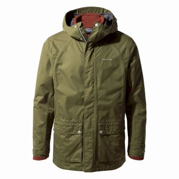 Craghoppers Mudale 3 in 1 Jacket Dark Moss / Black Pepper