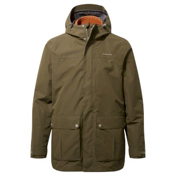 Craghoppers Ricon 3 in 1 Jacket - Dark Moss / Potters Clay