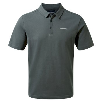 Craghoppers Geraldton Short Sleeved Polo Dark Grey