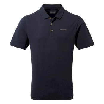 Craghoppers Raul Short-Sleeved Polo - Blue Navy