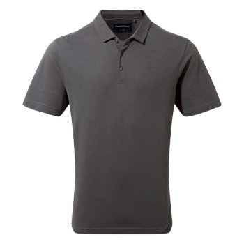 Craghoppers Raul Short-Sleeved Polo - Dark Grey