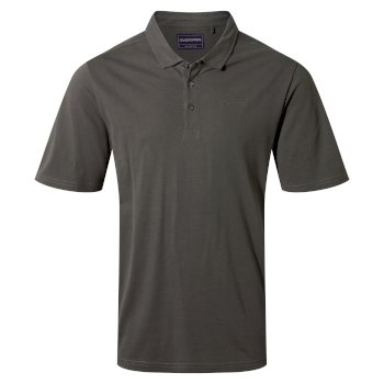 Craghoppers Stanton Short Sleeved Polo - Dark Grey