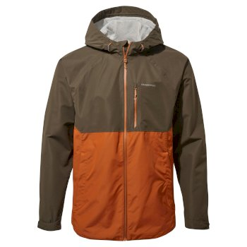 Craghoppers Lucas Jacket - Woodland Green / Potters Clay