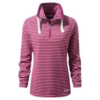 Craghoppers Rhonda Half-Zip Fleece Azalia Pink Combo