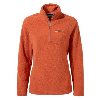 Craghoppers Moira Half-Zip Fleece Warm Ginger
