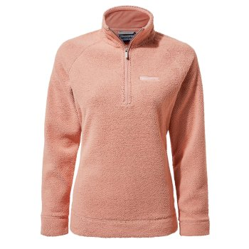 Craghoppers Ambra Half-Zip Fleece - Rosette